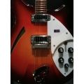 Rickenbacker - 360/6, Fireglo Finish, with/Case